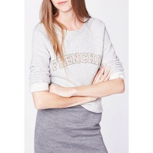 Claudie Pierlot Travel Jersey Sweatshirt XS